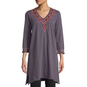 NWT Johnny Was Marjan Embroidered Tunic Dress